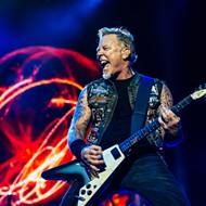 Don't bring an umbrella to Metallica tonight at Comerica Park