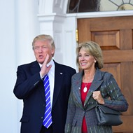 Could Betsy DeVos be on her way out of the Trump administration?