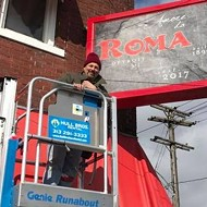 Roma Cafe will re-open on Saturday as Amore Da Roma