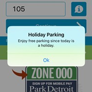 City of Detroit waives metered parking until Christmas