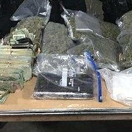 What a haul! Detroit police confiscate pounds of drugs and lots of cash