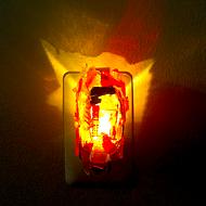 Detroit artist makes moody night lights from shards of broken brake lights