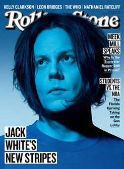 JACK WHITE BY PARI DUKOVIC FOR ROLLING STONE