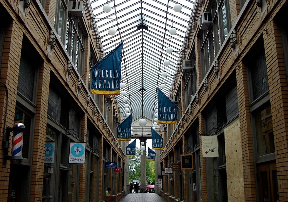 Nickels Arcade. - JOHN KANNENBERG, FLICKR