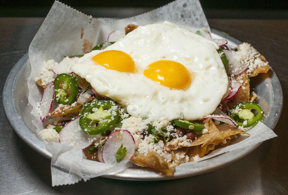 Chilaquiles from O.W.L. - TOM PERKINS.