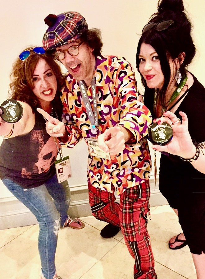 Nardwuar. - KATHY VARGO AND KAT PALED