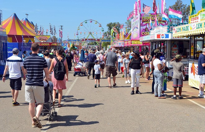 The old Michigan State Fair. - MIKE PFEIFFER