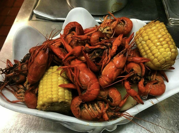 Crawfish boil at Traffic Jam and Snug. - FACEBOOK