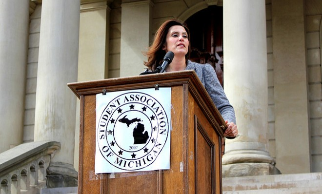 Gretchen Whitmer. - PHOTO BY AUSTIN_SLACK, FLICKR CREATIVE COMMONS