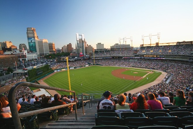 Comerica Park on a better day - SHUTTERSTOCK