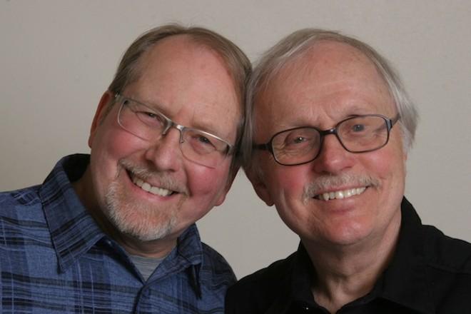 Jim Gallert (left) and Lars Bjorn. - PHOTO COURTESY CLYDE STRINGER