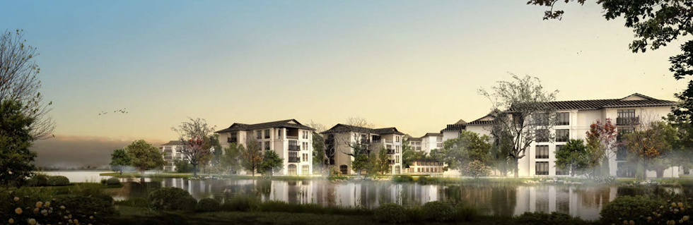 Rendering of International Village. - COURTESY PHOTO