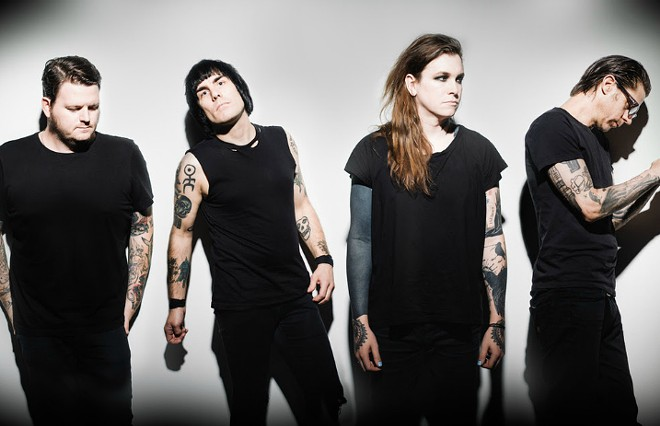 AGAINST ME! BY CASEY CURRY.