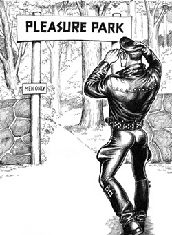 COURTESY OF THE TOM OF FINLAND FOUNDATION