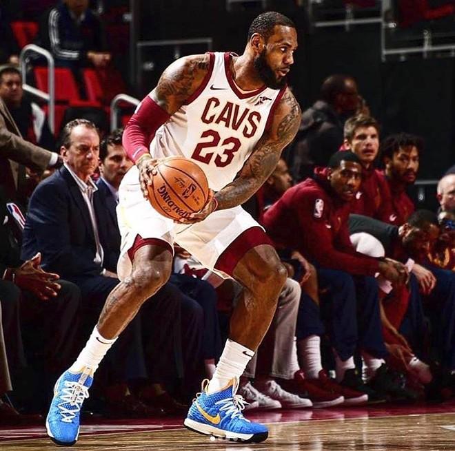 A lawsuit involving a Detroit barber has been filed against LeBron James. - COURTESY LEBRON JAMES' FACEBOOK
