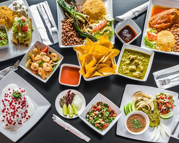 Dishes at Señor López on Michigan Ave., Detroit - COURTESY PHOTO