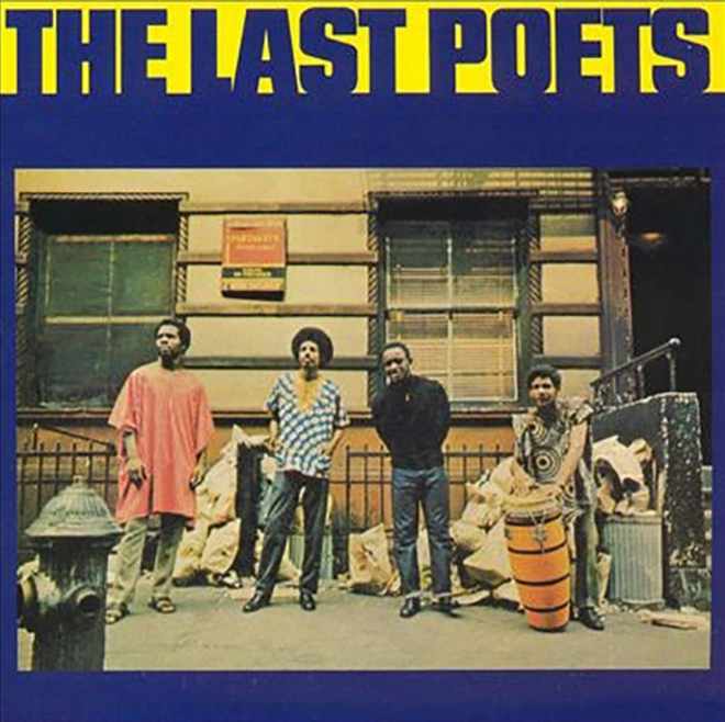 The cover the the Last Poets' debut album from 1970s.