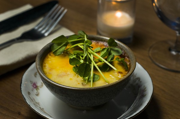Chawanmushi from Detroit's Lady of the House. - TOM PERKINS