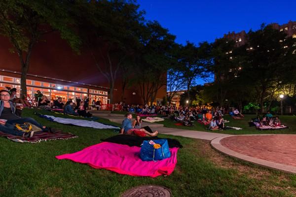 Movies at New Center Park. - COURTESY PHOTO