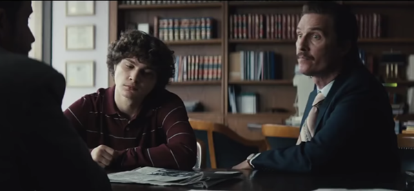 SCREENGRAB FROM TRAILER FOR 'WHITE BOY RICK'