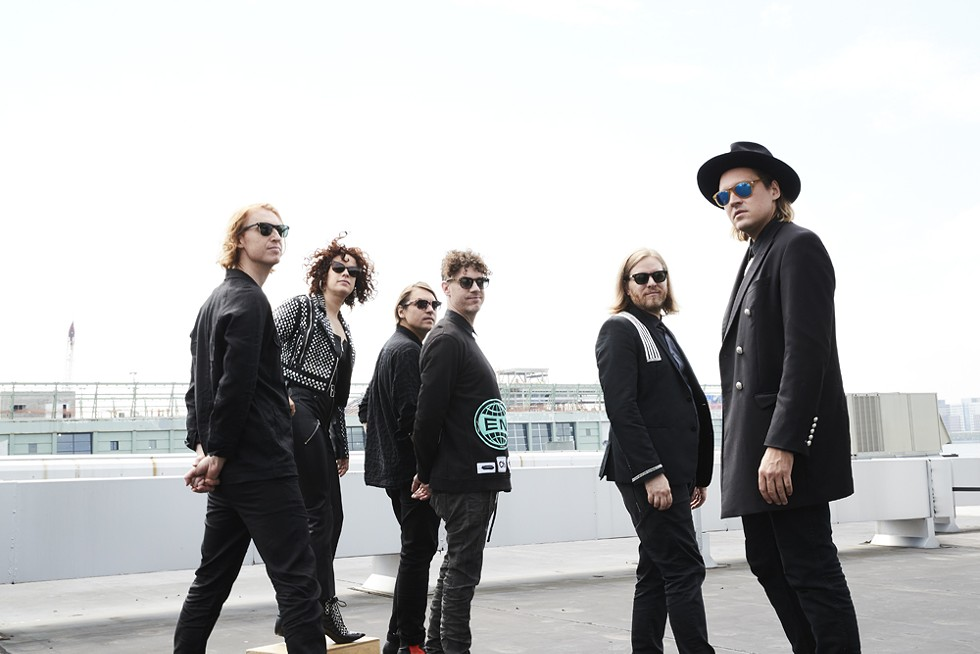 Arcade Fire, Saturday, July 7, DTE Energy Music Theatre. - COURTESY PHOTO
