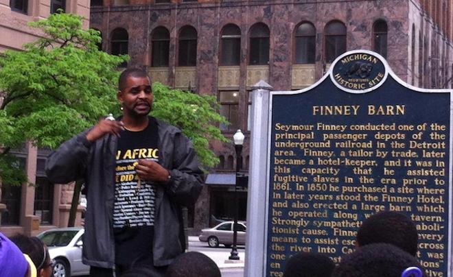 Jamon Jordan. - COURTESY BLACK SCROLL NETWORK HISTORY & TOURS