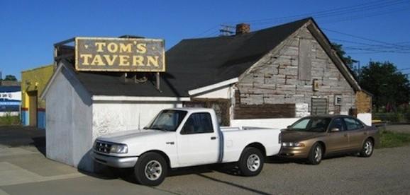 Tom's Tavern. - PHOTO BY MICHAEL JACKMAN