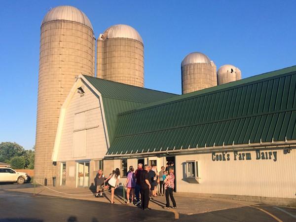 Cook's Farm Dairy. - TOM PERKINS