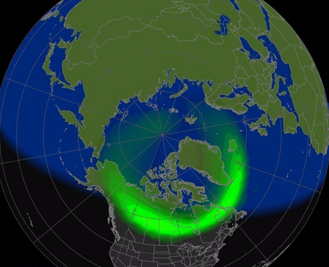 COURTESY SWPC.NOAA.GOV