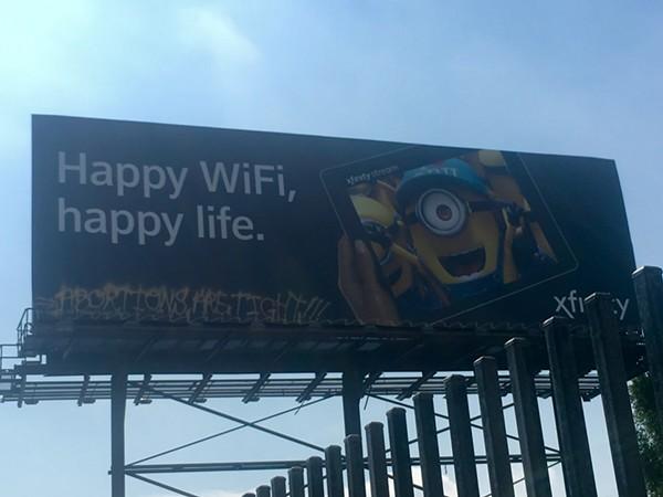 Billboard at Grand River Avenue near West Grand Boulevard. - VIOLET IKONOMOVA