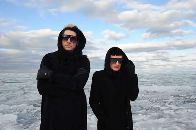 Adam Lee Miller and Nicola Kuperus of ADULT. - PHOTO VIA ARTIST'S OFFICIAL FACEBOOK