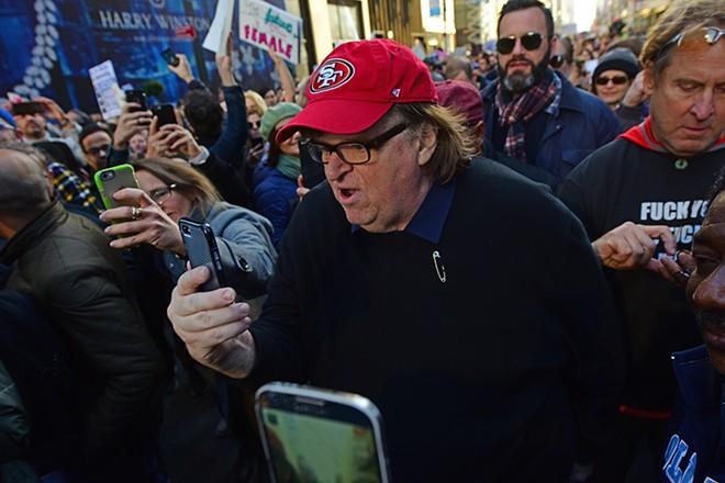 Michael Moore. - COURTESY PHOTO