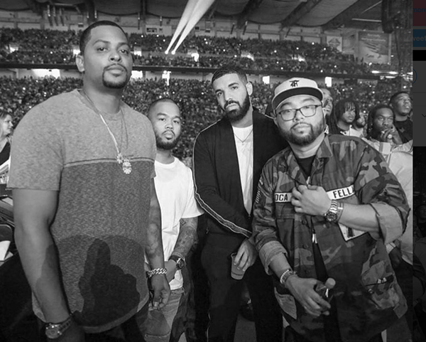 Chubbs, Niko, Drake, and Franny - PHOTO VIA TWITTER, @KODAKLENS