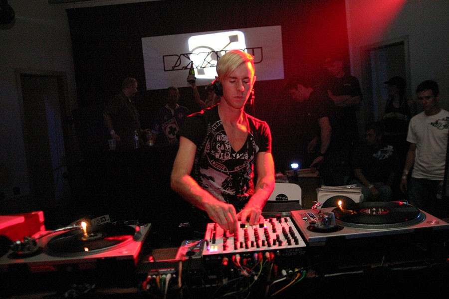 Richie Hawtin at Paxahau 7-year anniversary at the Masonic Temple. - DOUGLAS WOJCIECHOWSKI