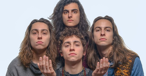 Greta Van Fleet - PHOTO BY DOUG COOMBE FOR METRO TIMES