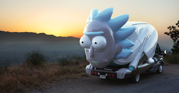 The Rick Mobile - COURTESY OF CARTOON NETWORK