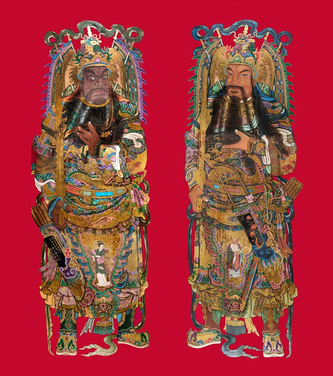 """""""Door Gods"""" © Kaohsiung Museum of History. Photo credit: Ming Bang Yen and Tsung Che Chen - IMAGE PROVIDED BY DIA"""