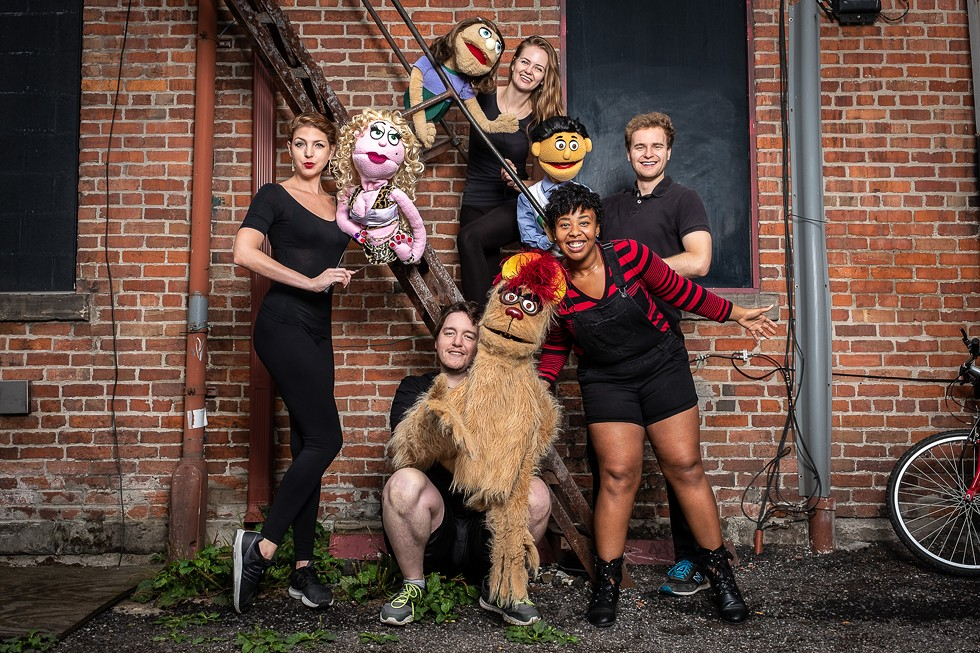 Avenue Q cast. - COURTESY PHOTO