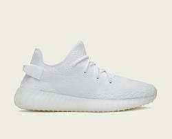 Yeezy x Adidas Boost 350 V2 in Triple White, $220 - PHOTO VIA ADIDAS.COM