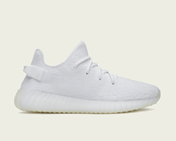 Yeezy x Adidas Boost 350 V2 in Triple White, $220 - PHOTO VIA ADIDAS.COM