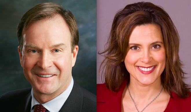 Attorney General Bill Schuette and former State Sen. Minority Leader Gretchen Whitmer will face off in the general election for Michigan governor. - COURTESY PHOTO