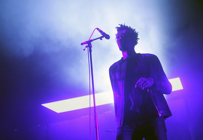Massive Attack's Tricky performing at Barcelona's Sónar Festival. - ZIXIA / SHUTTERSTOCK