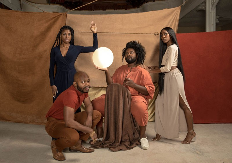 From left: Bevlove, Asante, Tunde Olaniran, and Ahya Simone.