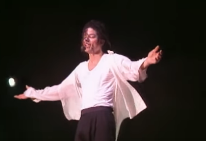 "SCREENGRAB, MICHAEL JACKSON  ""WILL YOU BE THERE"", VEVO"
