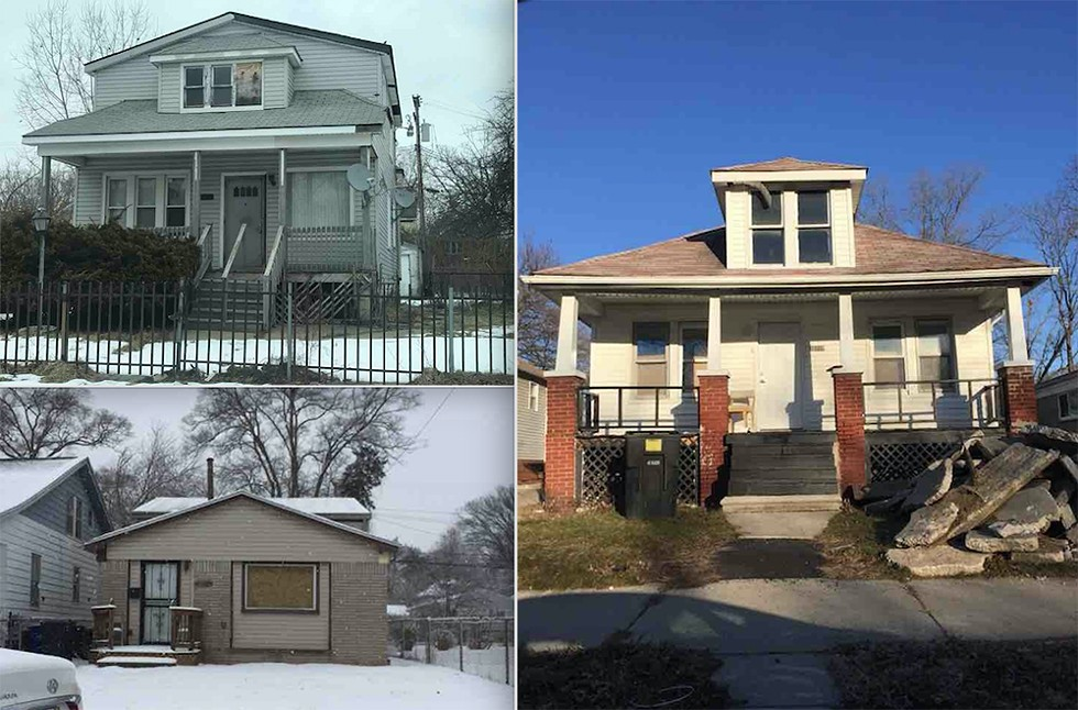 """Deciding what constitutes blight can be subjective. For our survey, we defined blight the way it's described in Michigan state law and the Detroit ordinance governing """"dangerous buildings."""" These are examples of vacant houses we did not consider blighted. - VIOLET IKONOMOVA"""