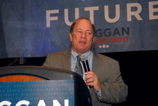Detroit Mayor Mike Duggan. - FLICKR, BARBARA BAREFIELD