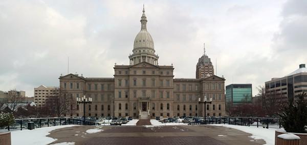 Michigan State Capitol. - SHUTTERSTOCK USER DIMITRIY BRYNDIN