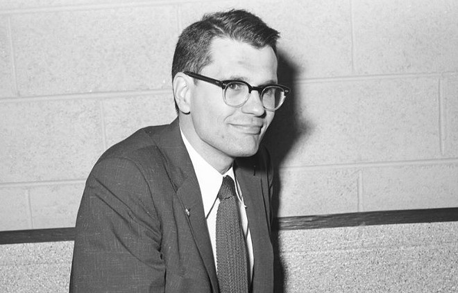 A young John Dingell. - COURTESY OF JOHN DINGELL'S FORMER CAMPAIGN