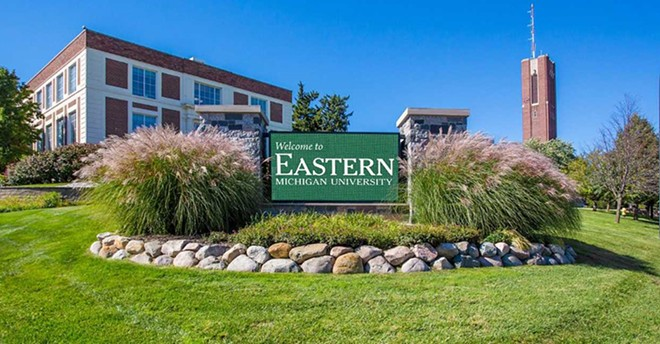 Eastern Michigan University. - COURTESY OF EMU