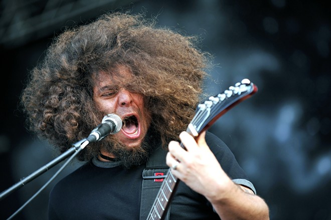Coheed and Cambria mastermind, Claudio Sanchez. - YAKUB88 / SHUTTERSTOCK